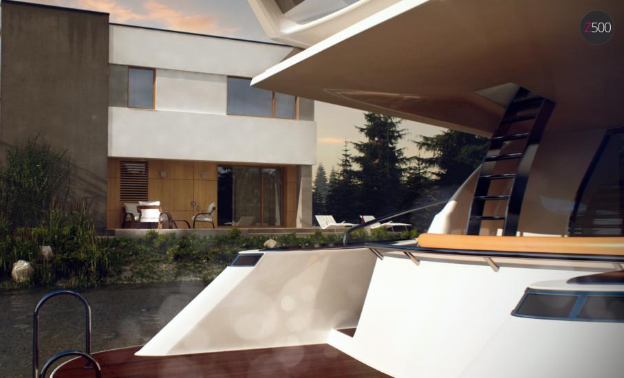 Проект дома Zx59 иллюстрация 7