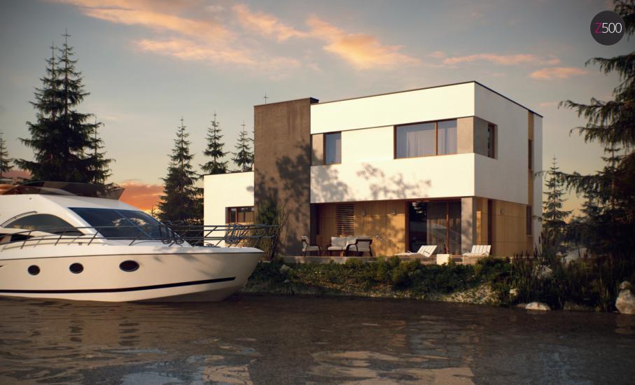 Проект дома Zx59 иллюстрация 8