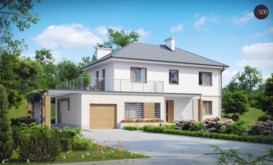 Проект дома Zx6 иллюстрация 1