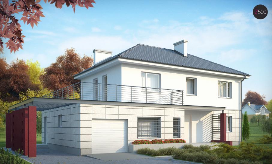 Проект дома Zx6 иллюстрация 3