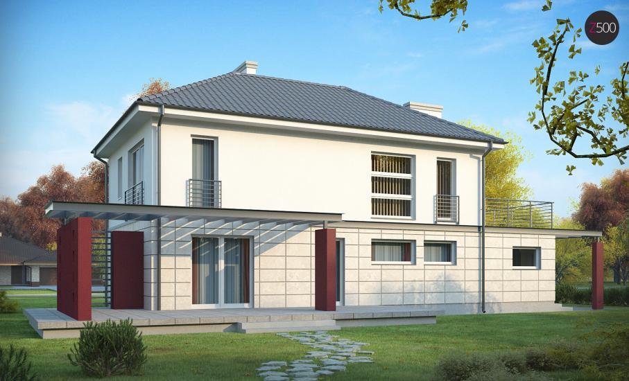 Проект дома Zx6 иллюстрация 4