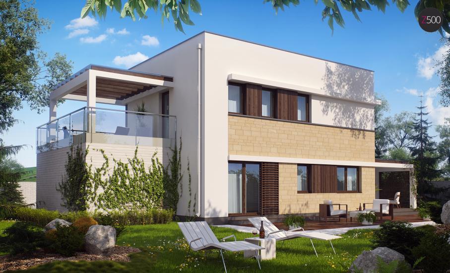 Проект дома Zx63 иллюстрация 3