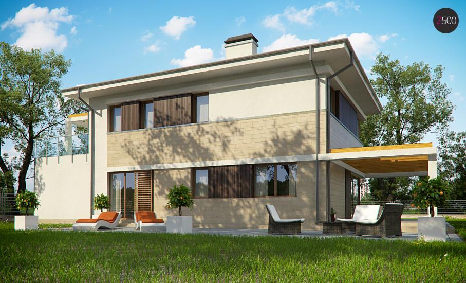 Проект дома Zx63 иллюстрация 4