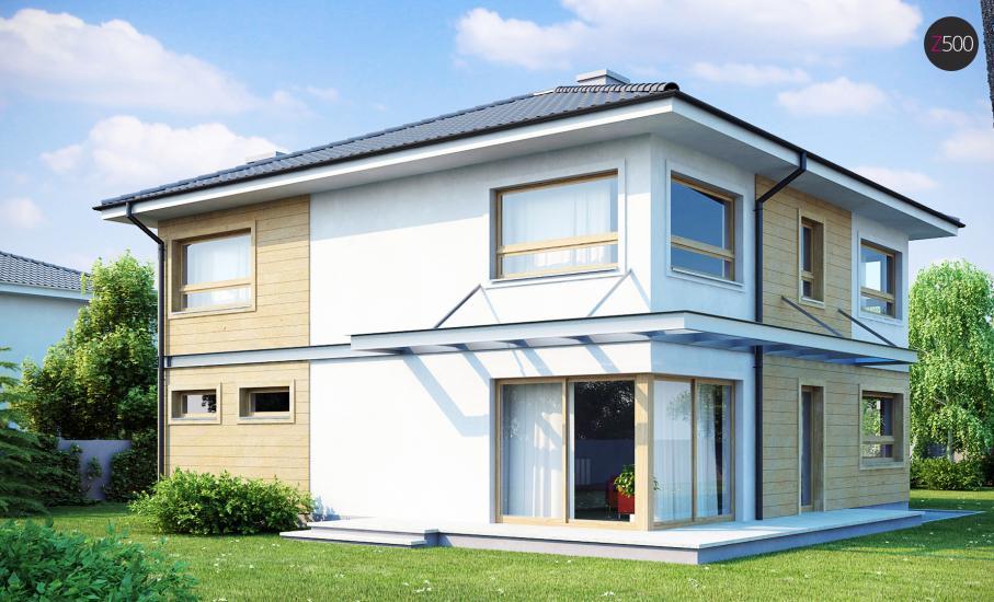 Проект дома Zx7 иллюстрация 2