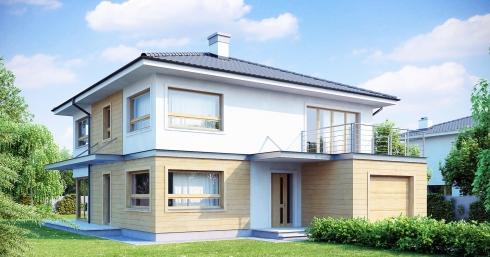 Проект дома Zx7 иллюстрация 1
