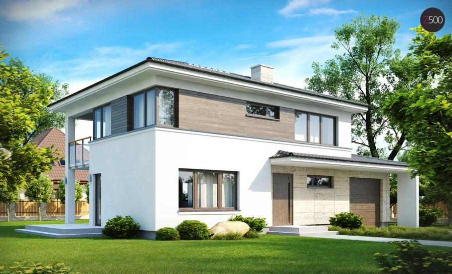 Проект дома Zx8 иллюстрация 1