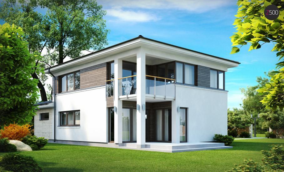 Проект дома Zx8 иллюстрация 2